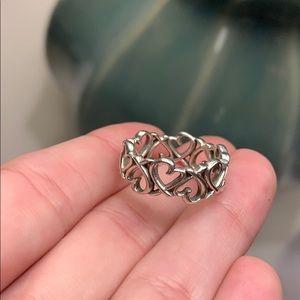 Tiffany & Co. Loving Heart Band Ring